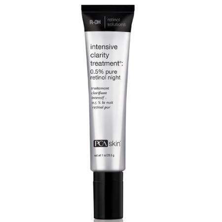 Intensive Clarity Treat. 0.5% Retinol - preparat na bazie retinolu 0,5% dla skór trądzikowych [29.5 ml] PCA SKIN