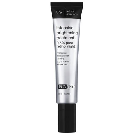 Intensive Brightening Treat. 0.5% Pure Retinol Night - serum intensywnie rozjaśniające z retinolem [29.5 ml] PCA SKIN