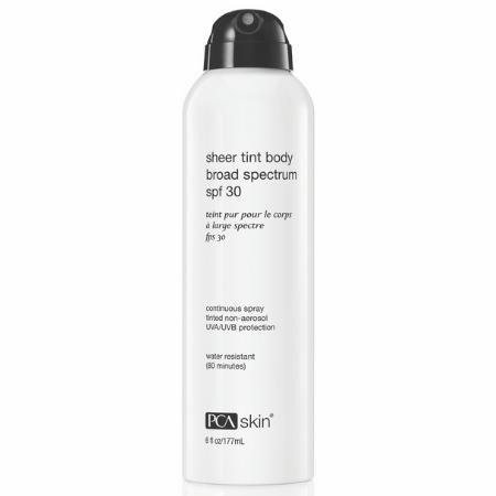 Sheer Tint Body Broad Spectrum SPF 30 - Spray - spray ochronny [177 ml] PCA SKIN