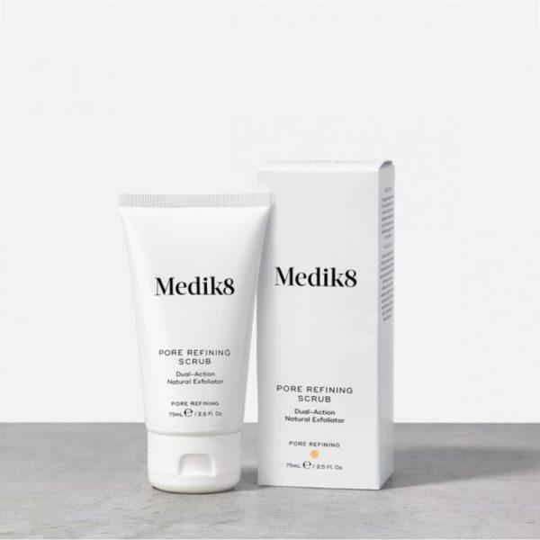 Pore Refining Scrub - Dwufunkcyjny peeling oczyszczający [75ml] MEDIK8