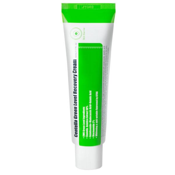 Centella Green Level Recovery Cream - regenerujący krem na bazie wąkroty azjatyckiej [50ml] PURITO