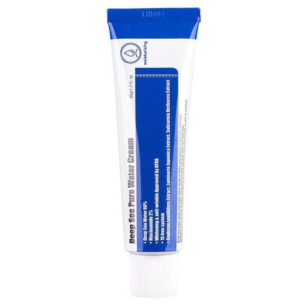 Deep Sea Pure Water Cream - Nawilżający krem na bazie wody morskiej [50ml] PURITO
