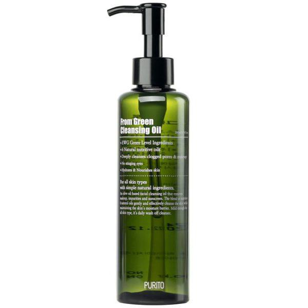 From Green Cleansing Oil - Olejek oczyszczający [200ml] PURITO