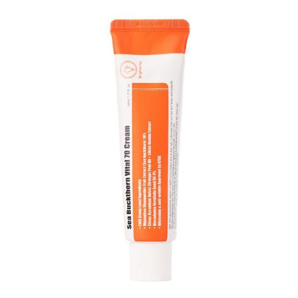 Sea Buckthorn Vital 70 Cream - Krem rewitalizujący na bazie ekstraktu z rokitnika [50ml] PURITO
