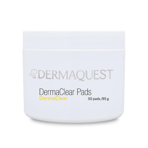 DermaClear Pads - Seboregulujacy domowy peeling chemiczny [50szt] DERMAQUEST