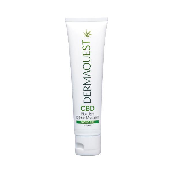 CBD Blue light defense moisturizer - CBD Krem nawilżająco - przeciwstarzeniowy suplementacyjny [57g] DERMAQUEST