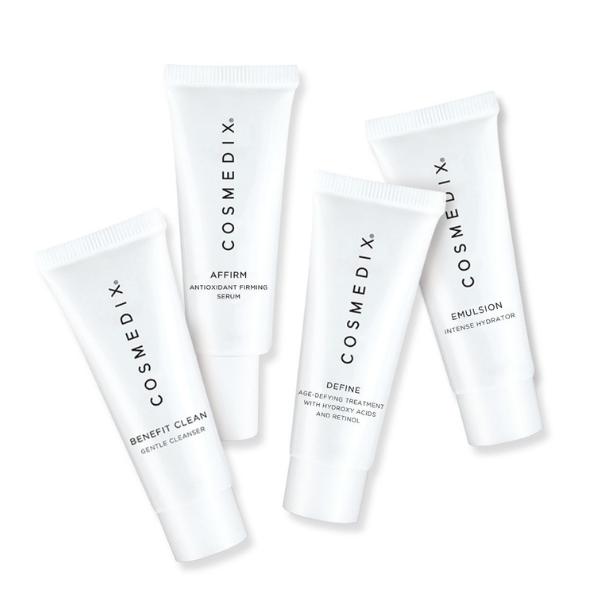 Normal Skin 4-Piece Essentials Kit - zestaw dla skóry normalnej [4*15ml] COSMEDIX