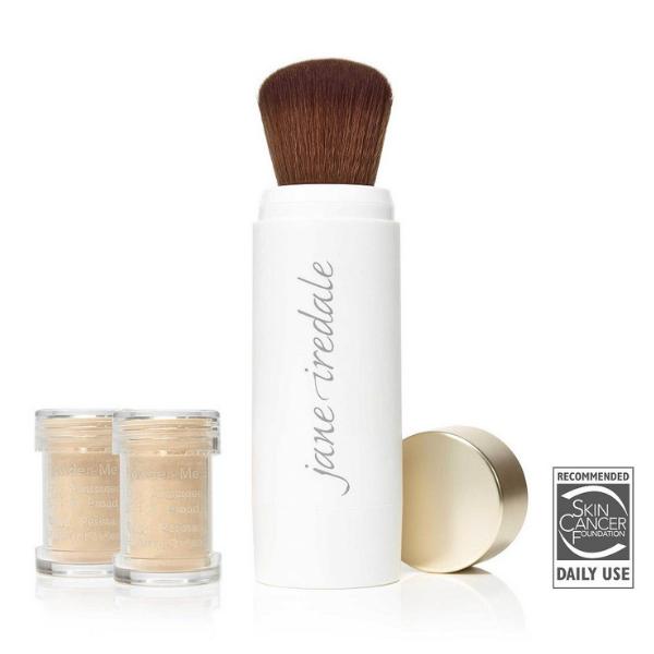 Powder Me SPF30 Dry Sunscreen - Lekki, suchy puder z filtrem SPF30 [2x2,5g] JANE IREDALE