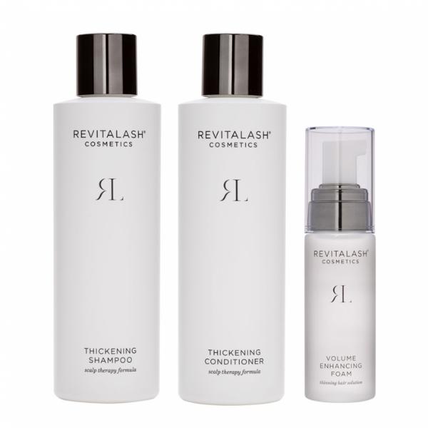 Thickening Shampoo - Szampon pogrubiający włosy [250ml] + Thickening Conditioner - Odżywka do włosów [250ml] + Volume Enhancing Foam - Pianka do włosów [55ml] REVITALASH