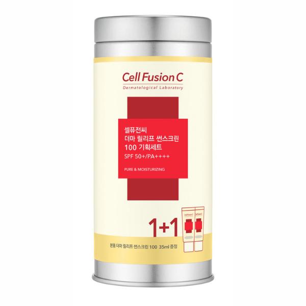Derma Relief Sunscreen - krem nawilżający z wysoką ochroną [2x35ml] CELL FUSION C
