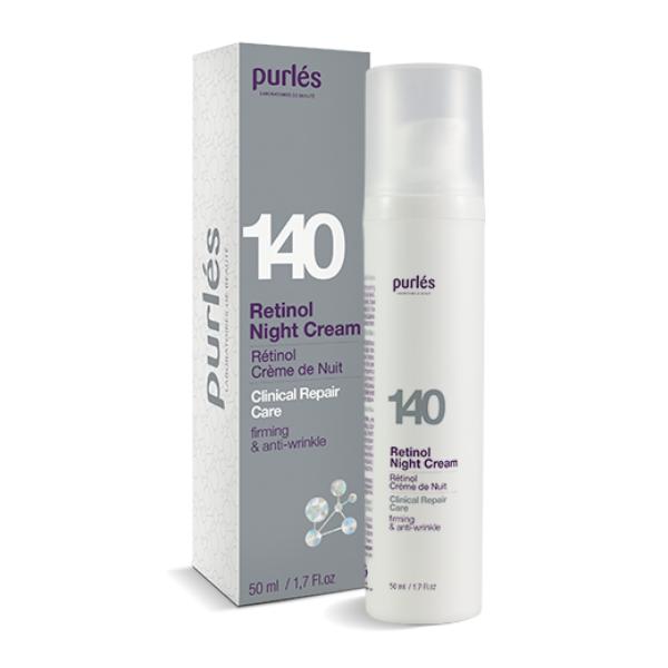 Retinol Night Cream - Przeciwstarzeniowy krem na noc z retinolem [50ml] PURLES
