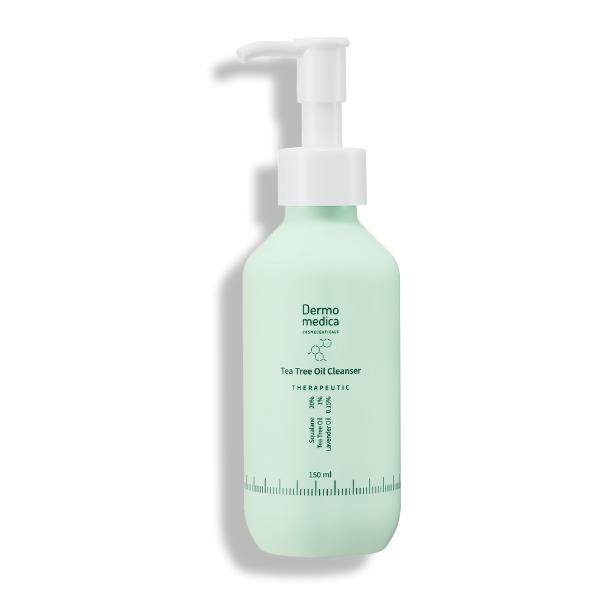 Tea Tree Oil Cleanser - Olejek myjący ze skwalanem, olejkiem z drzewa herbacianego i olejkiem lawendowym [150ml] DERMOMEDICA