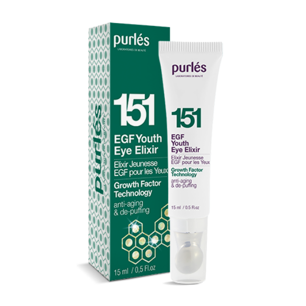 EGF Youth Eye Elixir - EGF Elixir młodości pod oczy [15ml] PURLES
