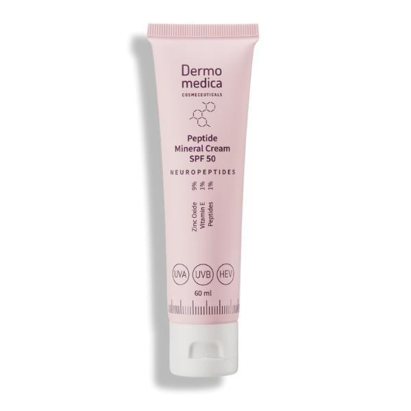Peptide Mineral Cream SPF 50 - peptydowy mineralny krem SPF 50 [60ml] DERMOMEDICA